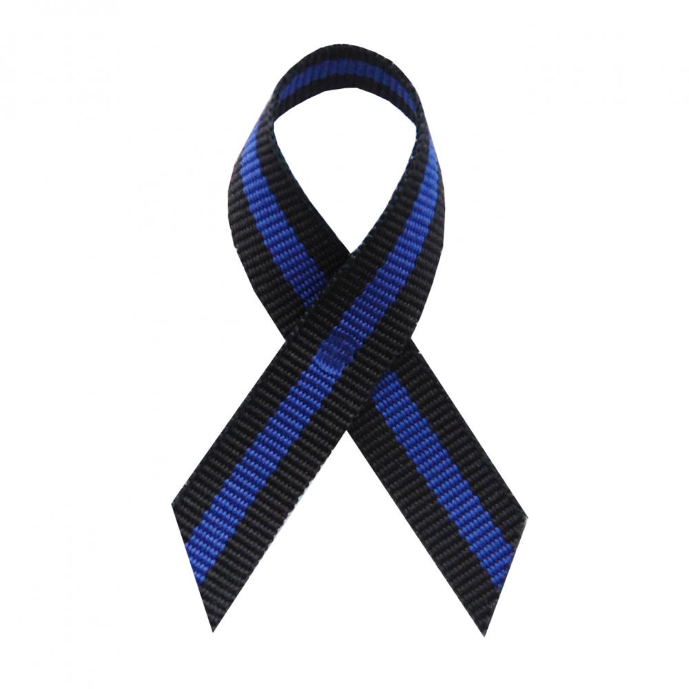 Thin Blue Line Awareness Ribbons