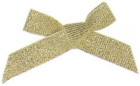 3/8 x 7-1/2 tinsel grosgrain